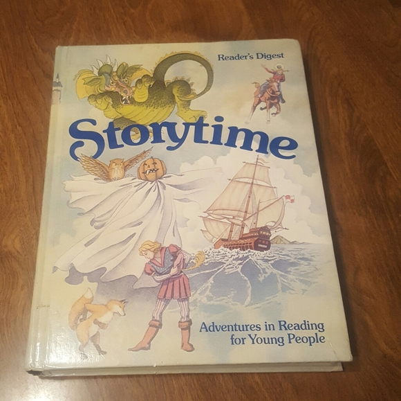 1982 FIRST EDITION READER'S DIGEST STORYTIME